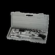 Dugókulcs készlet 52db 1/4'' 4-13mm 1/2'' 10-30mm