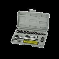 Dugókulcs készlet 17db 1/4'' 4-13mm