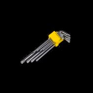 Torx kulcs készlet 9db CRV extra hosszú