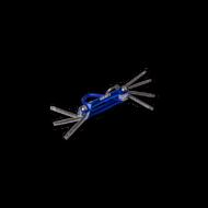 Torx kulcs behajtható 7 részes
