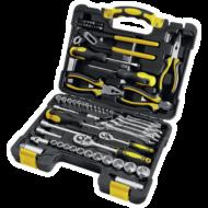 Szerszámkészlet 65 db-os, CR-V szerszámokkal, kofferben