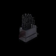 Csigafúrókészlet 19db 1-10mm
