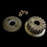 Motortengelyen lévő meghajtó fogaskerék - magnézium