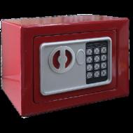 Széf digitális 230*170*170mm piros