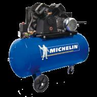 Michelin légkompresszor 100L, 10 bar, 3LE, V-motor, szíjhajtás