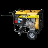 Áramfejlesztő 3 fázisú dízelmotoros 5000/4500W