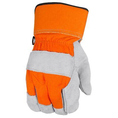 kf B&D munkavédelmi kesztyű hasított bőr méret: L