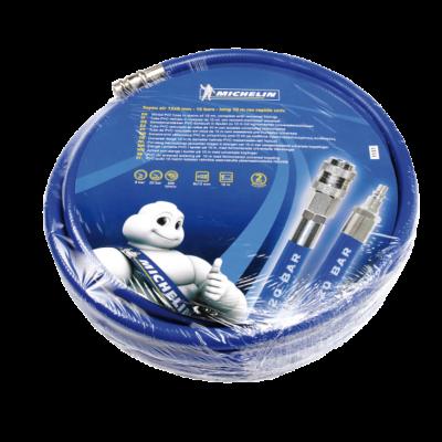 Michelin PVC tömlő 10m, gyorscsatlakozóval