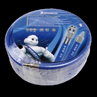 Michelin PVC tömlő 20m, gyorscsatlakozóval