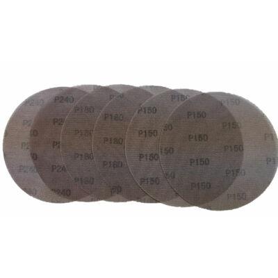Csiszolórács készlet, 180 mm, 6 db