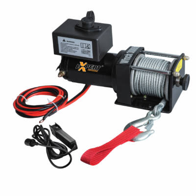 Elektromos csörlő 12V 1361 kg