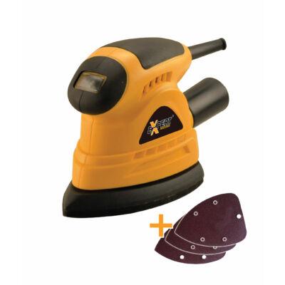 Mouse csiszoló 130W 140x140x80mm
