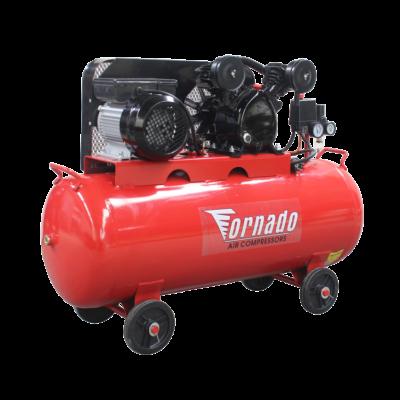 Tornado Légkompresszor 100 liter 12,6 bar 2LE V-motoros